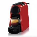 Espressor Nespresso by De'Longhi Essenza Mini Ruby Red, 19 bari, 1260 W, 0.6 l, Rosu + 14 capsule cadou