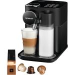 Espressor cu capsule Nespresso De'Longhi Gran Lattissima Black, 19 bari, 1400 W, 1.3 l, Negru + 14 capsule cadou