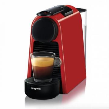 Espressor cu capsule Nespresso by De'Longhi Essenza Mini Ruby Red
